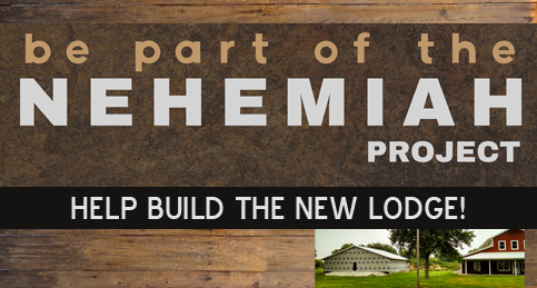 Nehemiah Project - Help build the new lodge